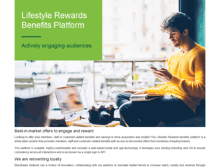 lifestylerewards.com.au screenshot