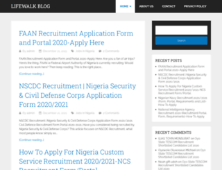 lifewalk.com.ng screenshot