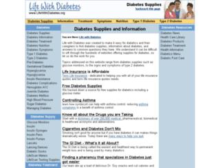lifewithdiabetes.org screenshot