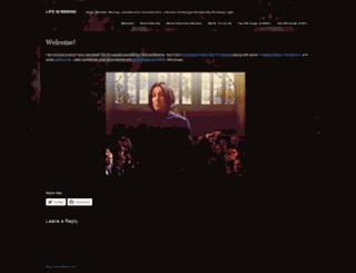 lifexinxrewind.wordpress.com screenshot