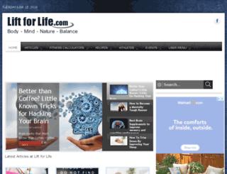 liftforlife.com screenshot