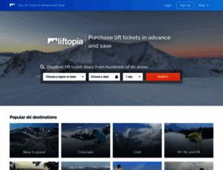 liftopia.com screenshot