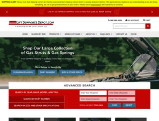 liftsupportsdepot.com screenshot