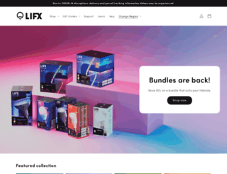 lifx.co screenshot