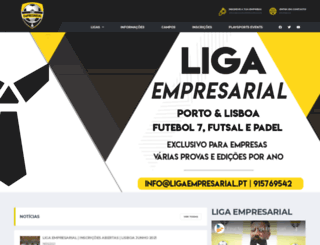 ligaempresarial.pt screenshot