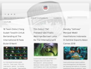 ligagame.com screenshot