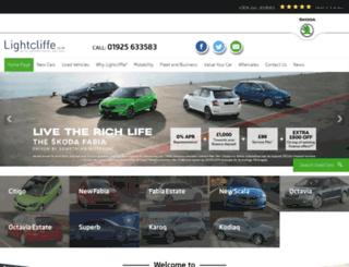 lightcliffe.co.uk screenshot