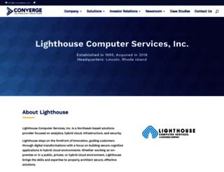 lighthousecs.com screenshot