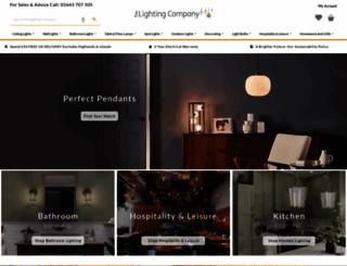 lightingcompany.co.uk screenshot