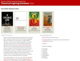 lightingdb.nypl.org screenshot