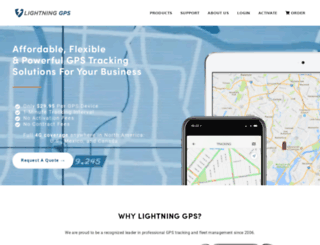 lightninggps.com screenshot
