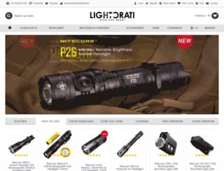 lightorati.in screenshot