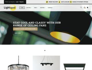 lightspot.com.au screenshot