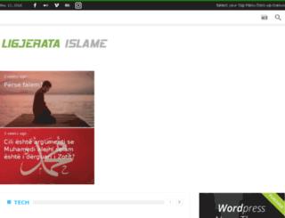 ligjerataislame.com screenshot