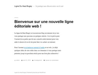 ligneduhautbugey.fr screenshot