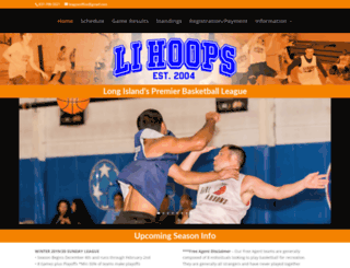 lihoops.com screenshot