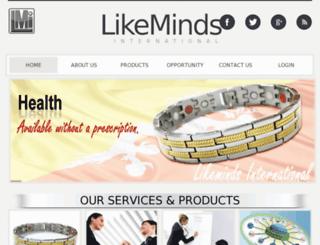 likemindsintl.com screenshot