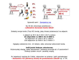 likesxl.sprawdzonataktyka.pl screenshot