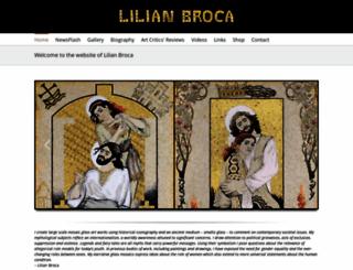 lilianbroca.com screenshot