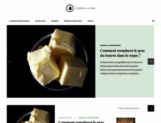 lilimax-cuisine.fr screenshot