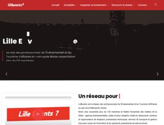 lilleevents.fr screenshot