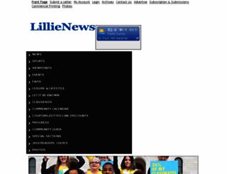 lillienews.com screenshot