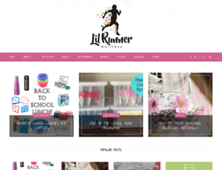 lilrunner.wordpress.com screenshot
