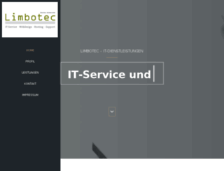 limbotec.de screenshot