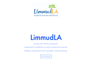limmudla.org screenshot