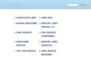 limo-forums.com screenshot