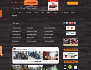 limo-uae.com screenshot