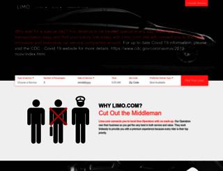 limo.com screenshot