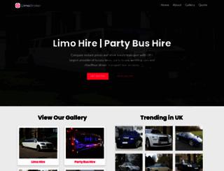 limobroker.co.uk screenshot