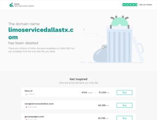 limoservicedallastx.com screenshot