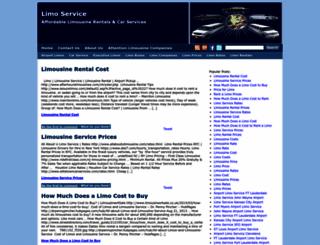 limoservicer.com screenshot