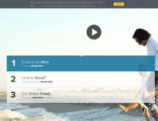 limtravel.worldventures.biz screenshot