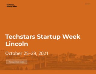 lincoln.startupweek.co screenshot