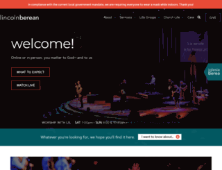 lincolnberean.org screenshot