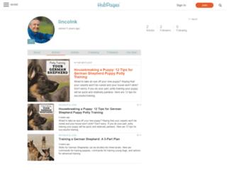 lincolnk.hubpages.com screenshot