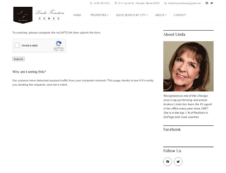 lindafeinstein.idxbroker.com screenshot