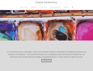 lindakemshall.com screenshot