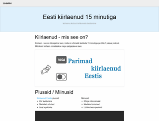 lindaliini.ee screenshot