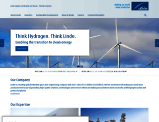 linde.com screenshot