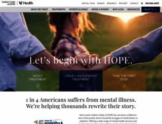 lindnercenterofhope.org screenshot