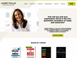 lindseypollak.com screenshot