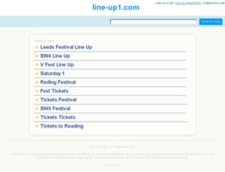 line-up1.com screenshot