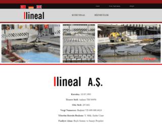 lineal.com.tr screenshot