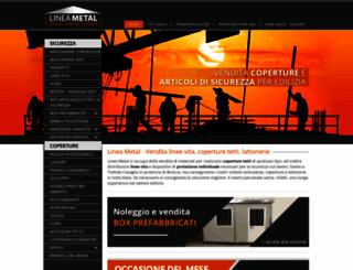 lineametal.it screenshot