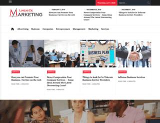 lineasdemarketing.com screenshot