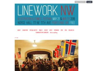 lineworknw.com screenshot